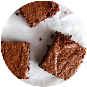 Almond Butter Paleo Brownies