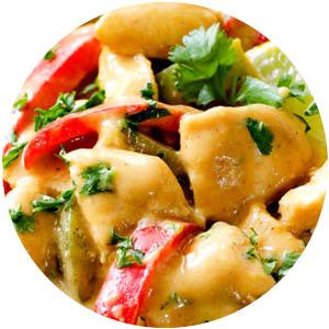Coconut Mango Verde Chicken