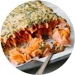 Dijon Lemon and Herb Baked Salmon