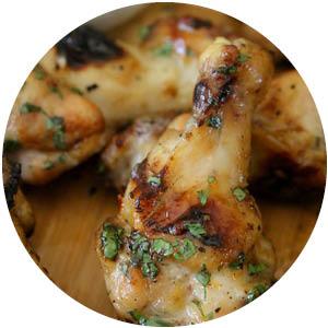 Peach Jalapeño Chicken Drumsticks