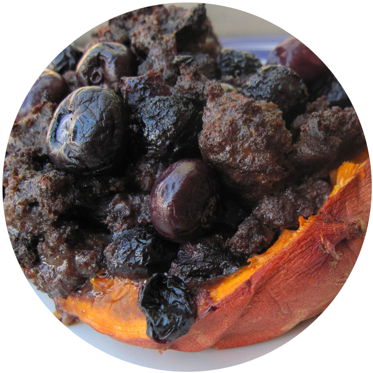 how to cook blueberry sausage