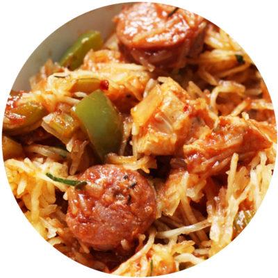 Jambalaya Spaghetti Squash
