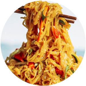 "Asian Garlic ""Noodles"""