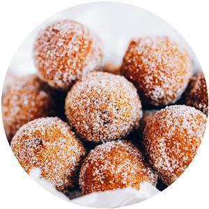Pumpkin Paleo Mini Donut Muffins